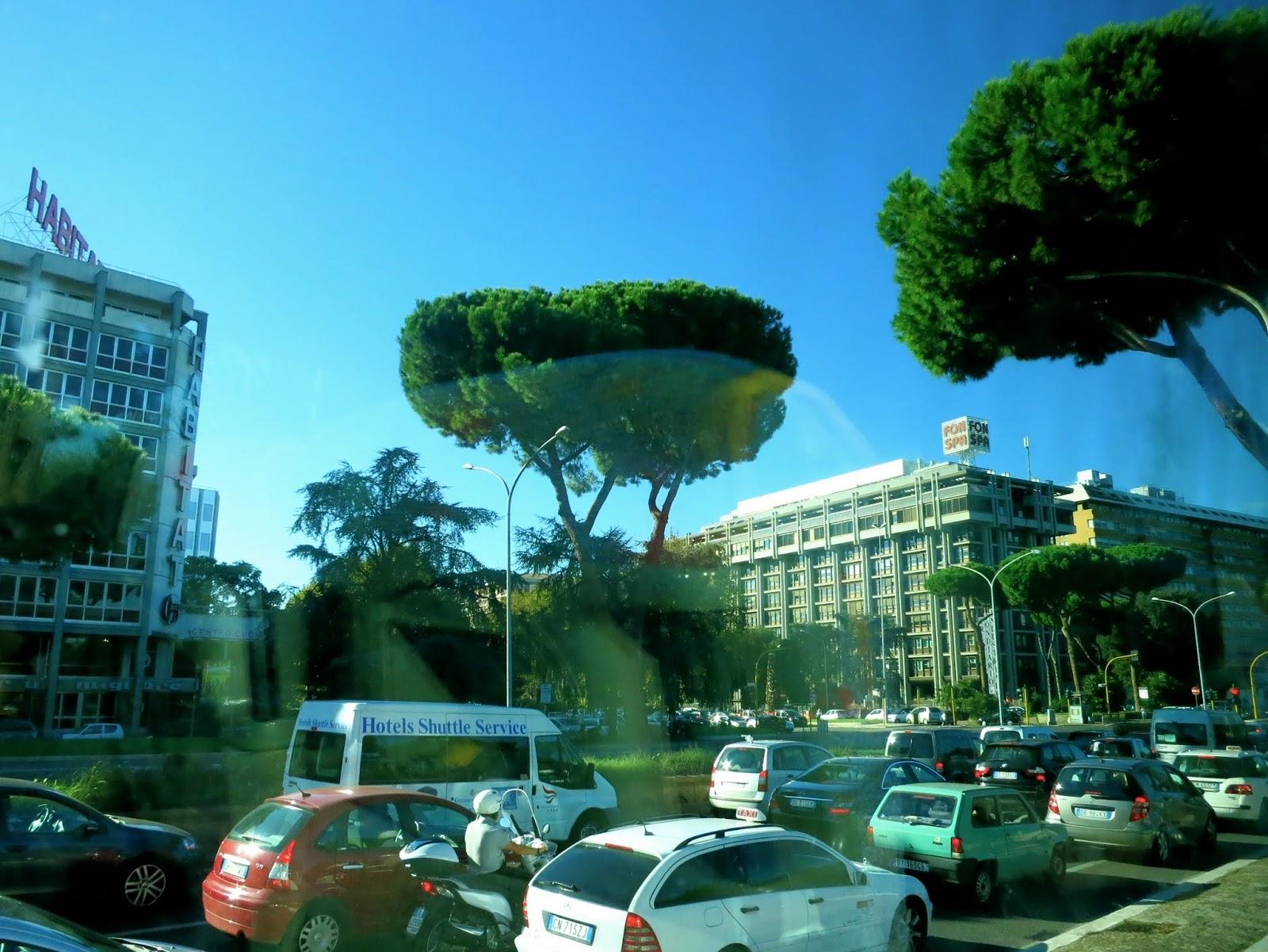 Rome Traffic Jam