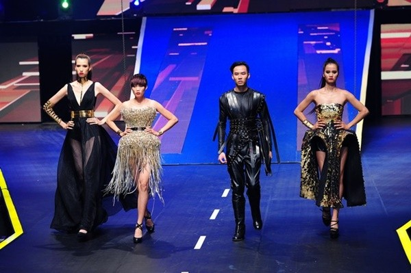 Hương Ly tại Vietnam International Fashion Week 2015