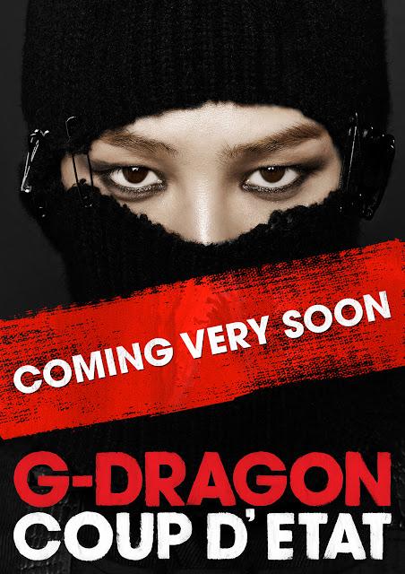 G-Dragon's Coup D'etat album teaser 130826