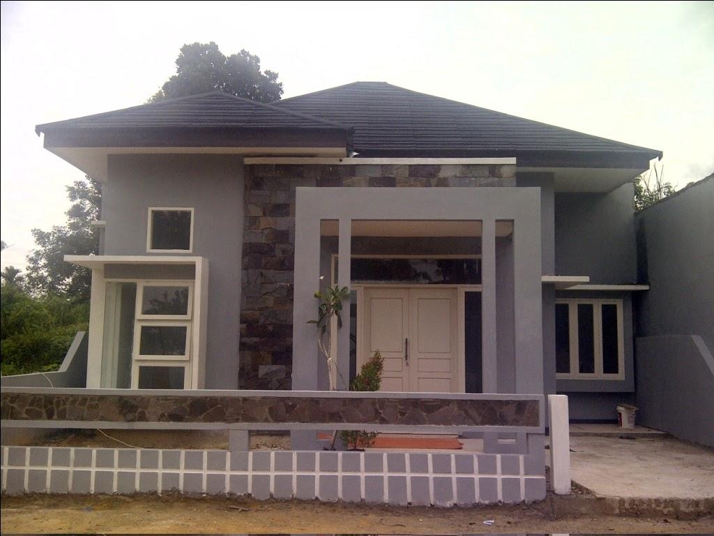 Tampilan mewah desain rumah minimalis 6