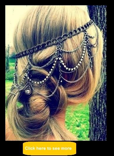 hair chains style