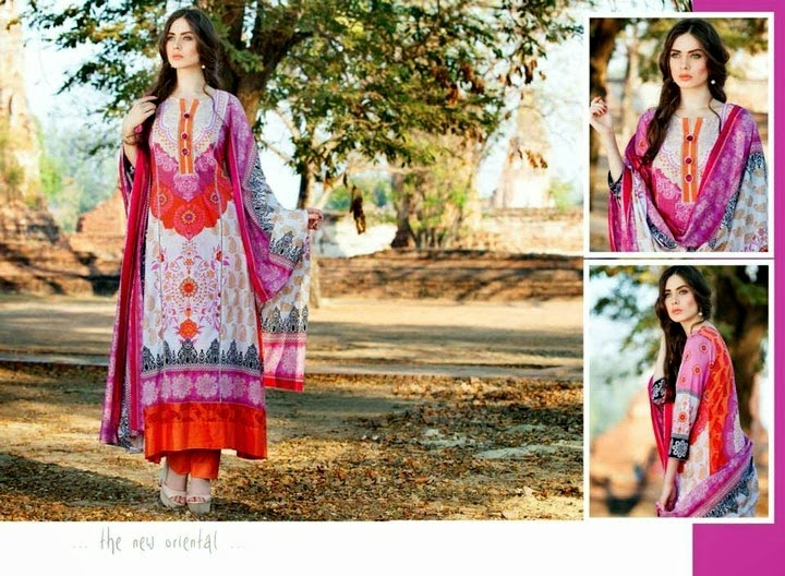 Colorful Lawn Suits for Summer-14