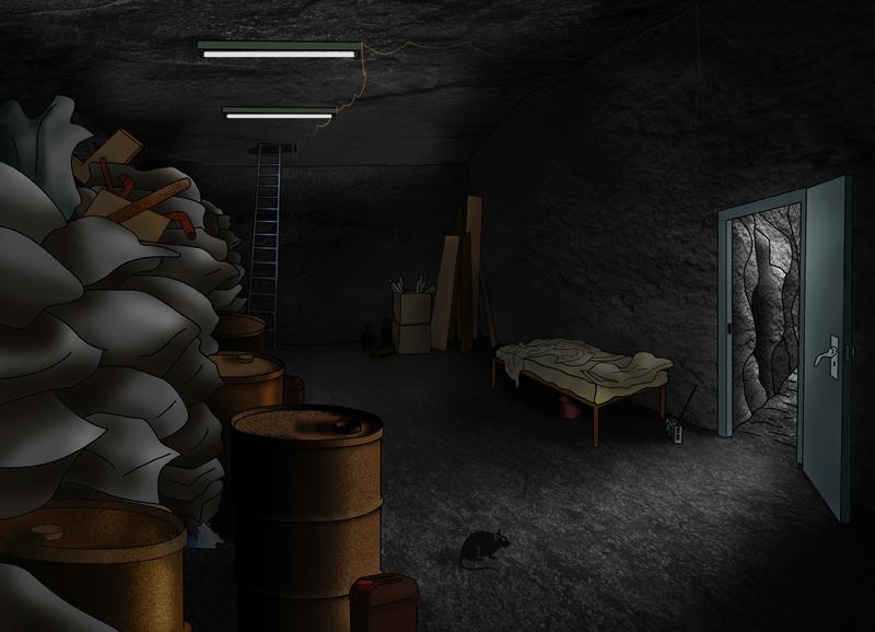 El subterráneo.
