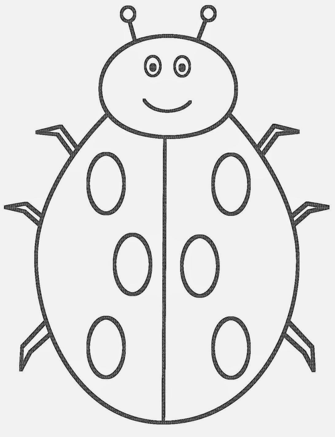Ladybug coloring pictures free coloring pictures for Free bug coloring pages