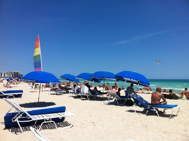 Praia em Miami Beach Espaço Gay
