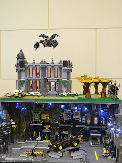 sydney brick show - wayne manor and underground batcave