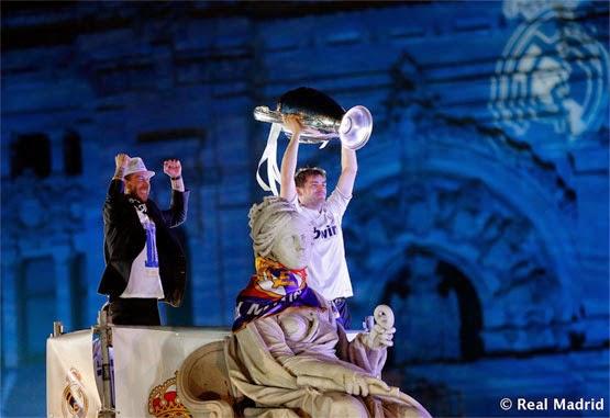Real Madrid campeones de Champions celebración en Cibeles de la Décima Copa de Europa