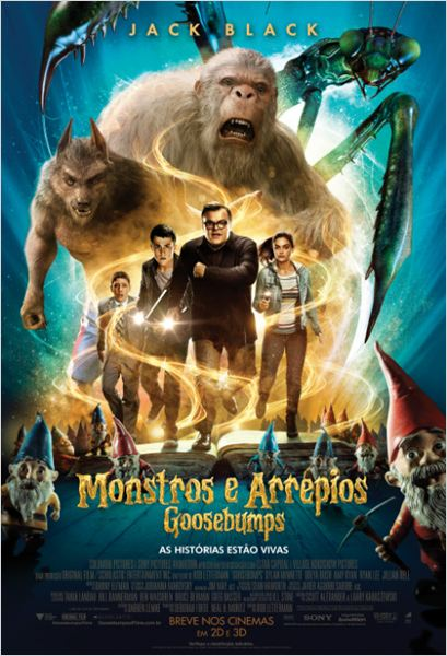 Goosebumps: Monstros e Arrepios Legendado