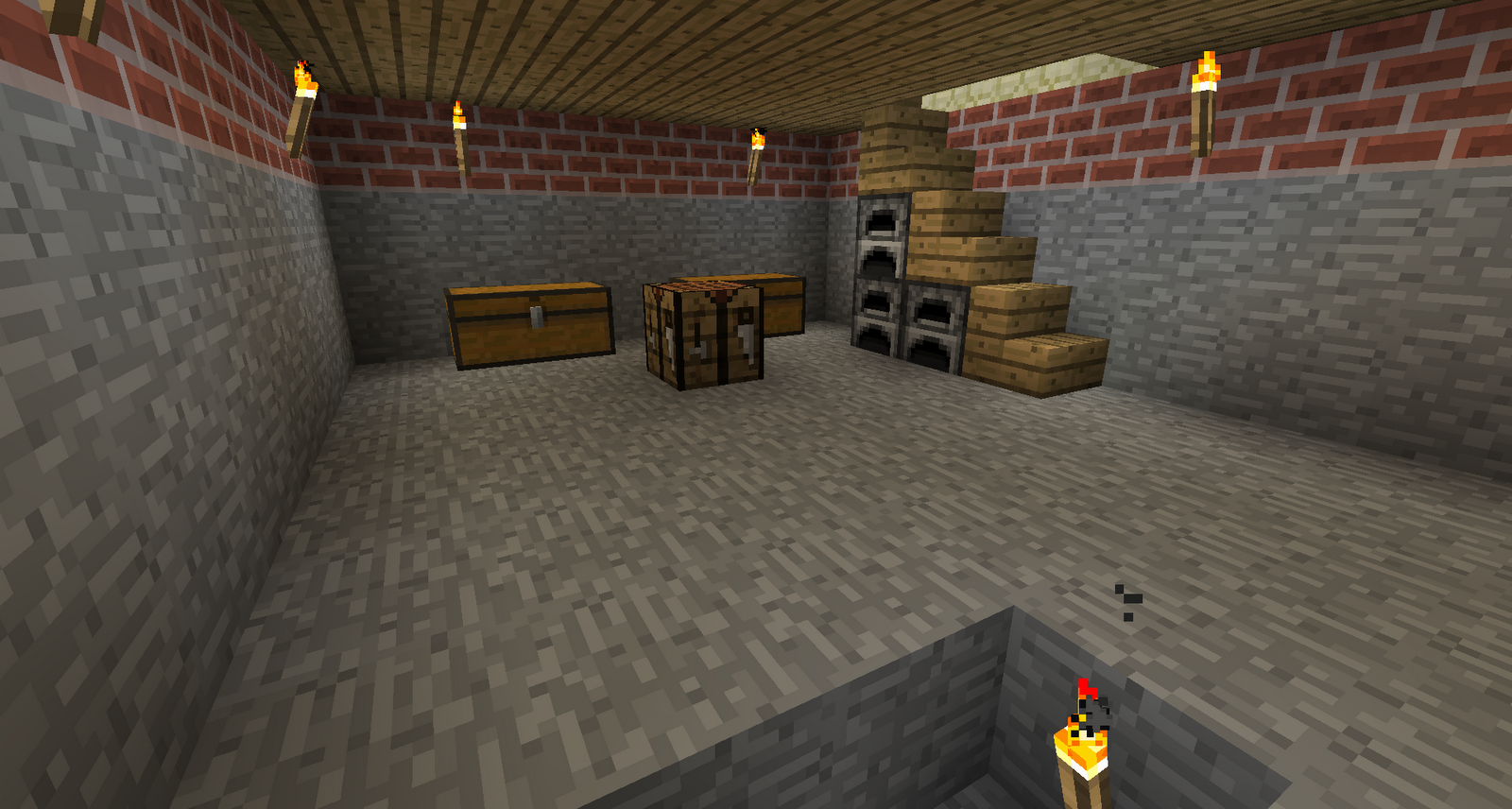 Inside My Minecraft Home