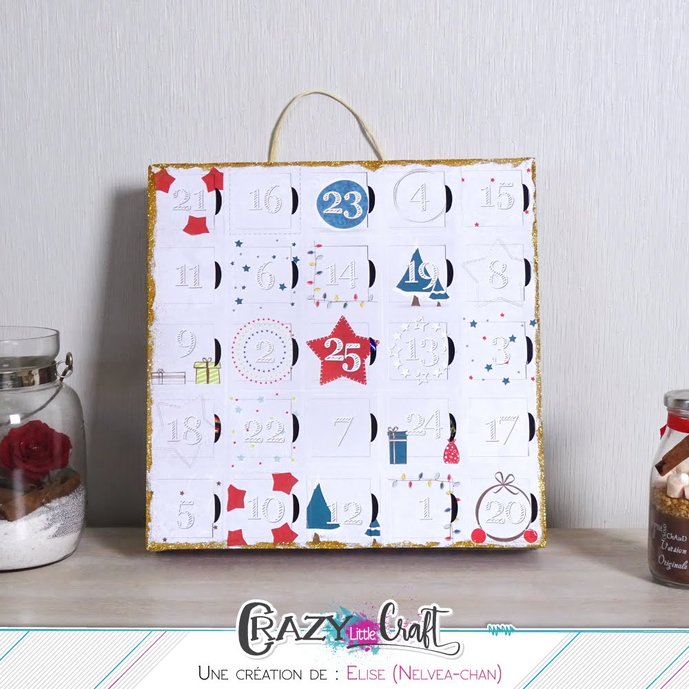 crazy little craft: crazy-bricolage avec un calendrier de l'avent