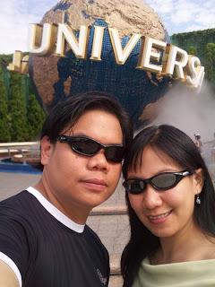 Osaka Universal Studios Japan universal globe