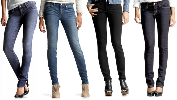 Как сделать джинсы по фигуре