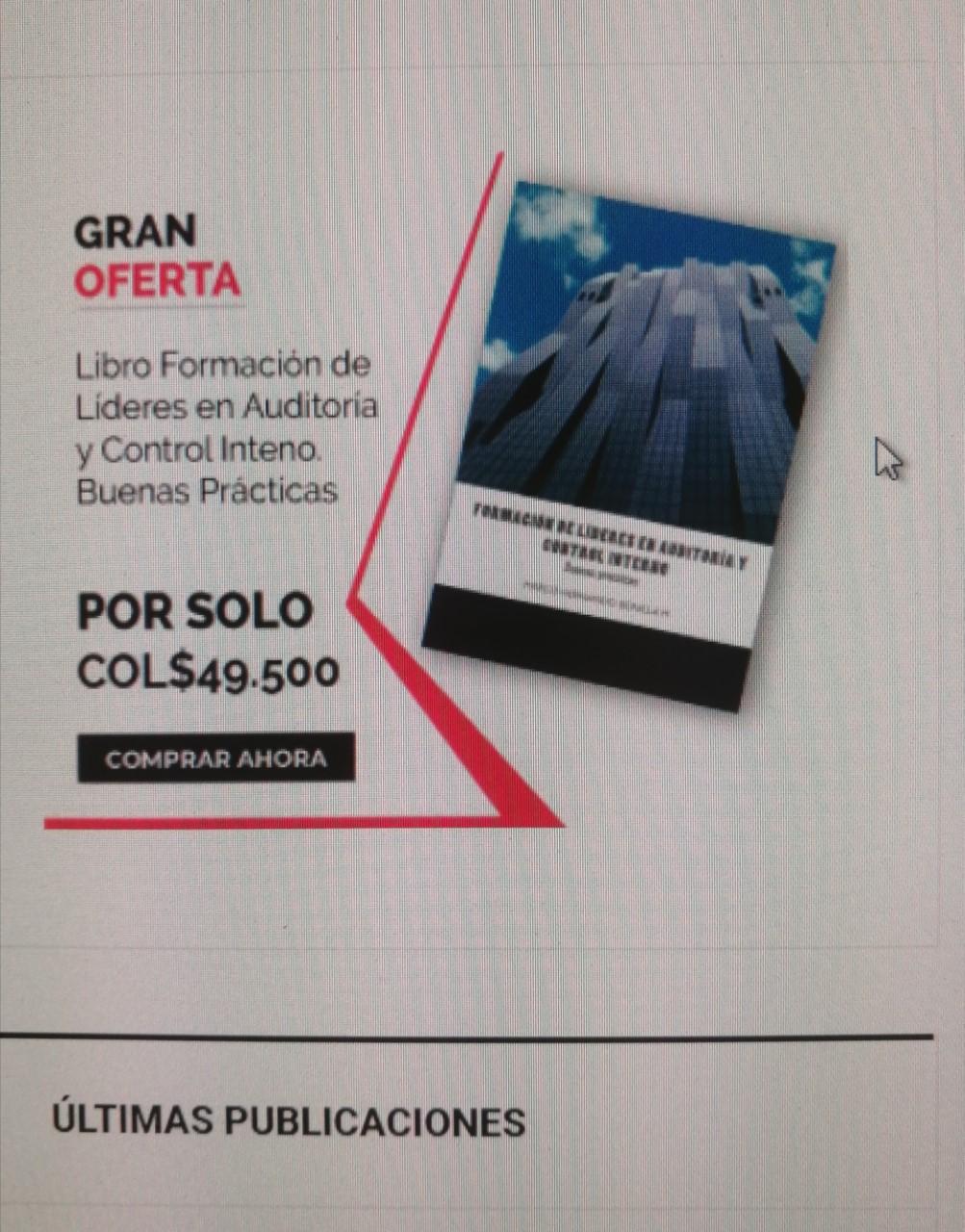 Libro de Auditoría Físico y virtual (amazon) -  haz click....