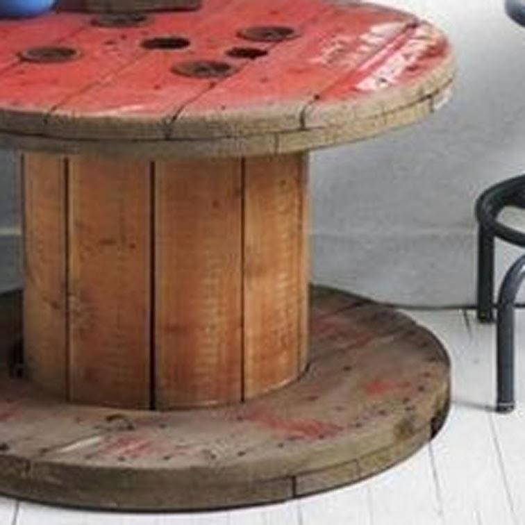 Riciclo bobine legno