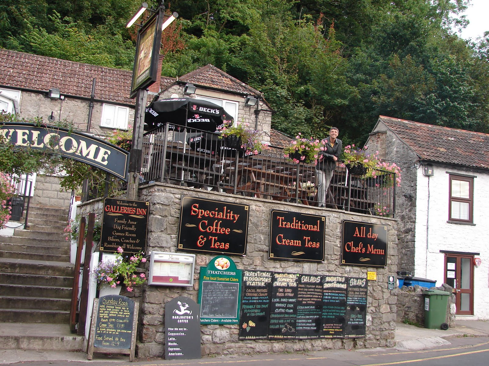 Our life in illinois cheddar gorge england 23rd 24th - Cheddar gorge hotels with swimming pools ...
