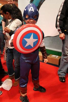 Cosplay Capitão América Infantil