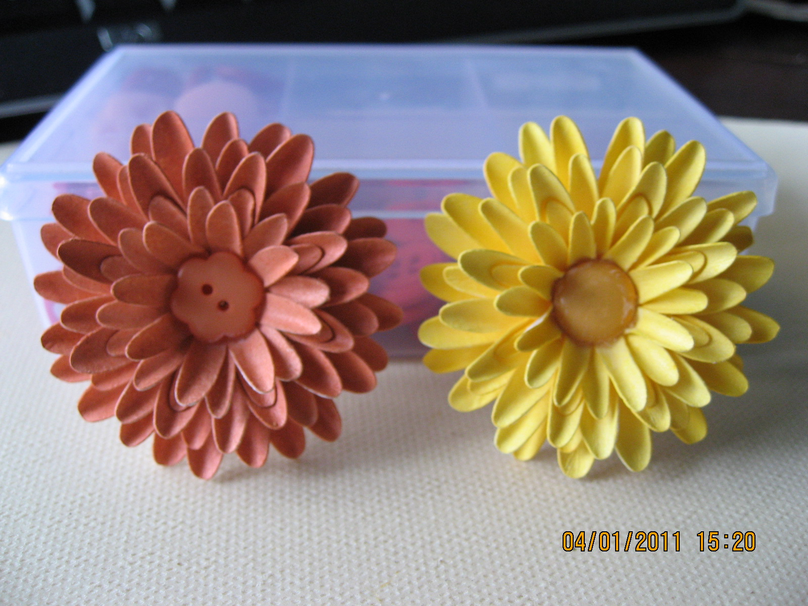 ligaya's creativity zone: 3d flowers
