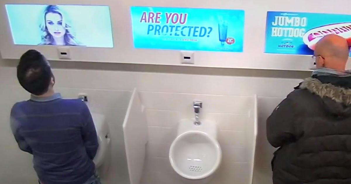 Скрытая камера в мужских туалетах в мире
