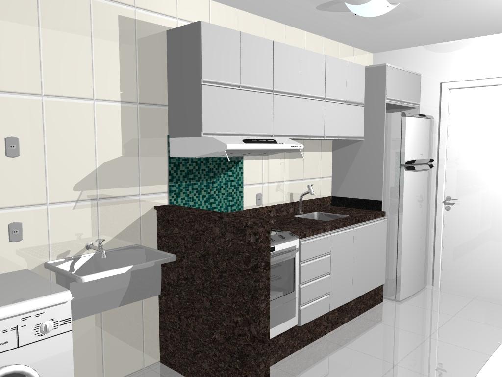de uma cozinha planejada armarios revestidos de madeira still base e #2B5951 1024 768
