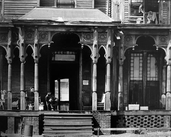 Boarding House Porch, Birmingham, Alabama
