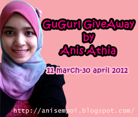 GuGurl GiveAway by Anis Athia
