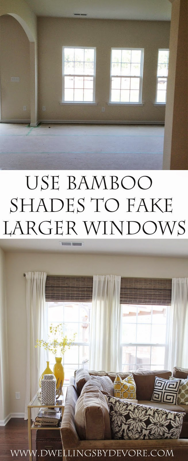 Dwellings By DeVore Bamboo Shades To Make Your Windows