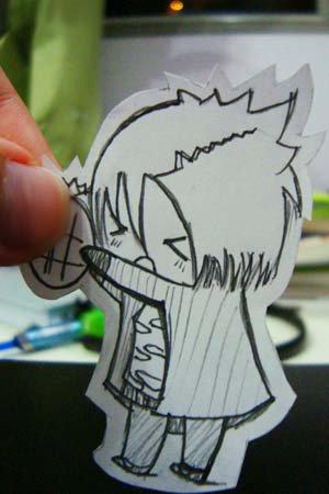 Figuras Anime en papel. 283573_10150264096539819_213182229818_7288131_7176114_n