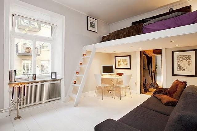 Blog de decora o arquitrecos cama suspensa quarto for Piccoli piani casa sul lago con soppalco