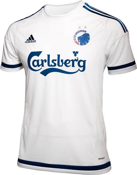 Adidas lança as novas camisas do FC Copenhagen - Show de Camisas 5489820d73832