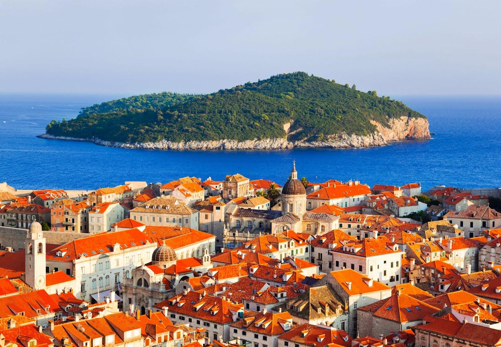 Dubrovnik beach, Croatia