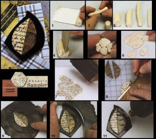 Полимерная глина запекаемая своими руками