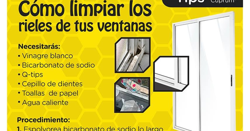 Limpiar Ventanas De Aluminio. Great Double Glass Clean Windows Small ...