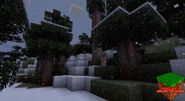 Pixel Reality Texture Pack nieve