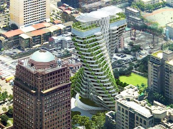 Futurix Agora Garden Il Giardino Verticale A Doppia Elica