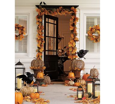 Sherri 39 s jubilee beautiful autumn front porches Beautiful fall front porches