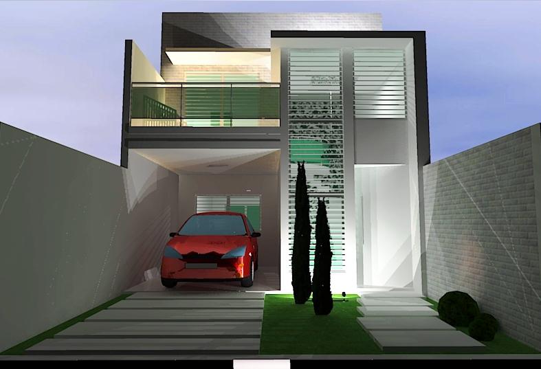 Rodrigo nogueira duplex como n o querer um for Fachadas duplex minimalistas