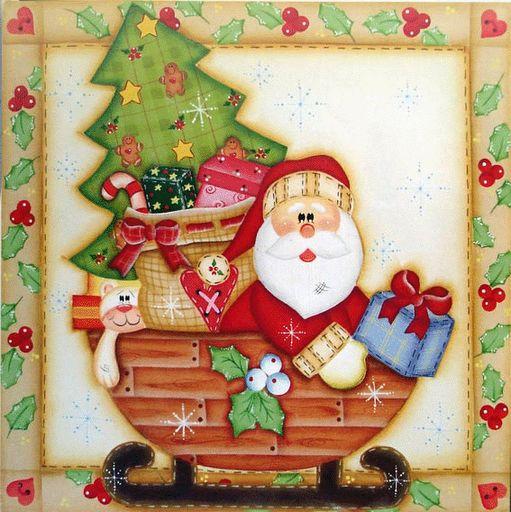 Dibujos santa claus para imprimir imagenes y dibujos - Motivos navidad para imprimir ...