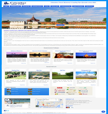 Columbus Travels & Tours Company Website