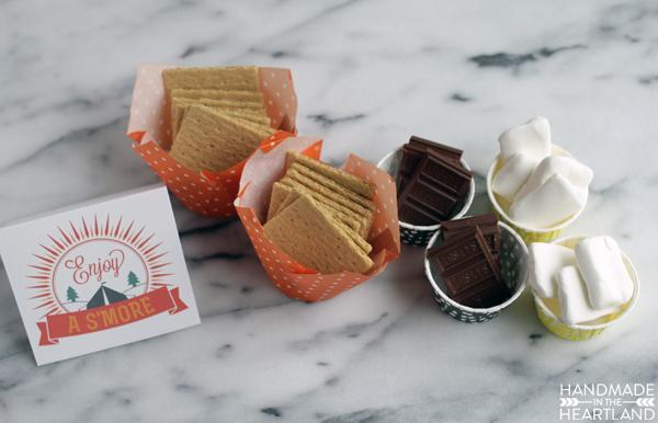 Enjoy a S'more Dessert Bar