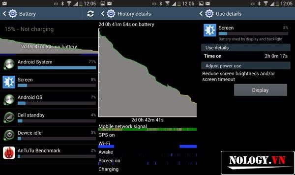 truy tìm ứng dụng ngốn pin samsung galaxy s4