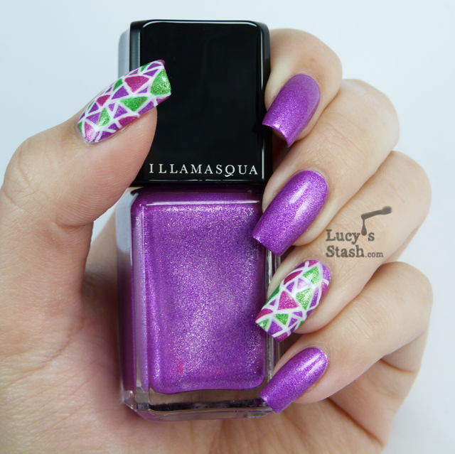 Lucy's Stash - UV glowing nail art with Illamasqua Paranormal polishes