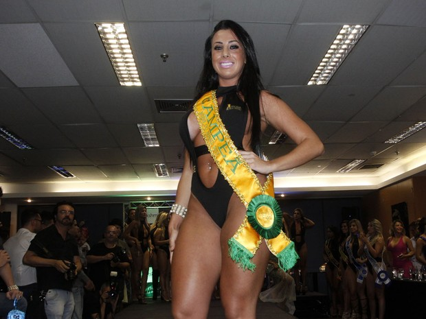 Thais Eid, of Sergipe, wins the contest Muse Brazil