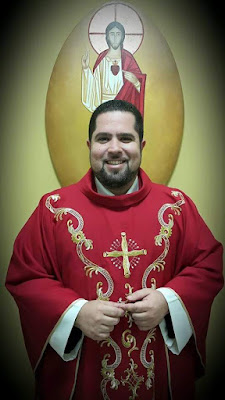 Mensságem de agradecimento do Padre Thiago Luz, msf.