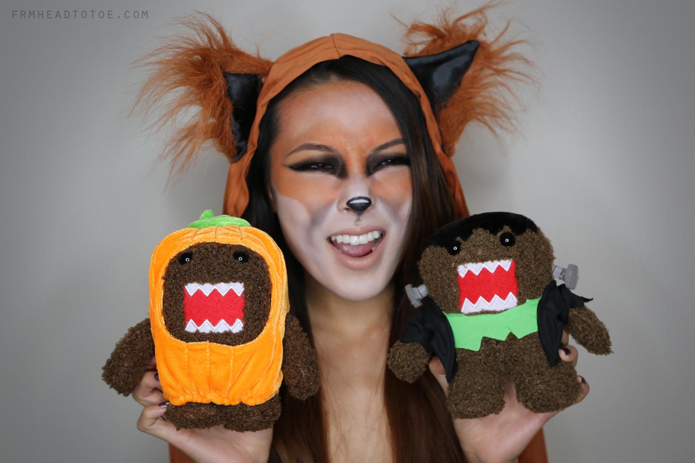 Fox Halloween Tutorial From Head To Toe - Fox-makeup