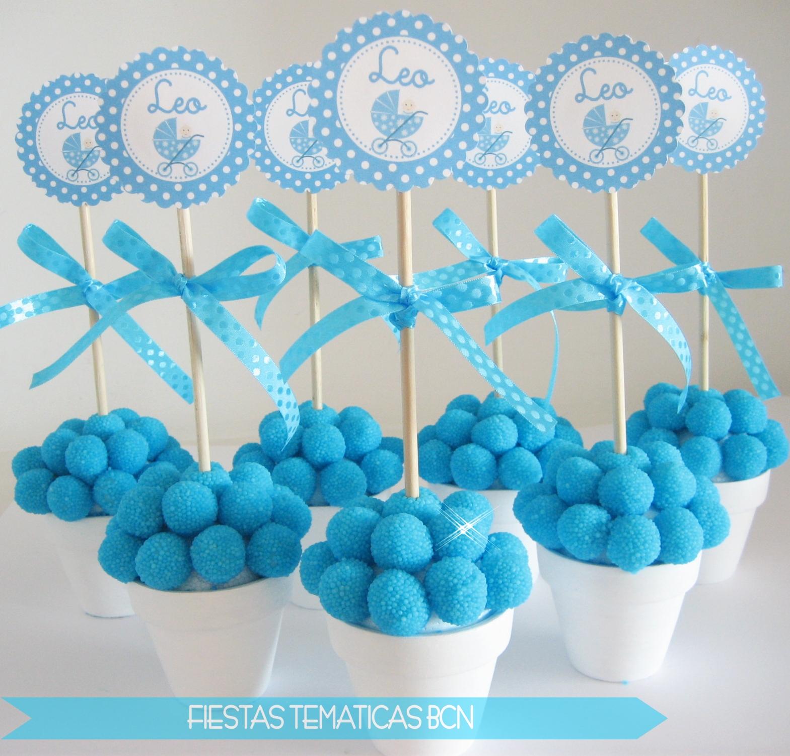 Fiestas tem ticas bcn kits de fiesta imprimibles - Como hacer centros de mesa con dulces para bautizo ...