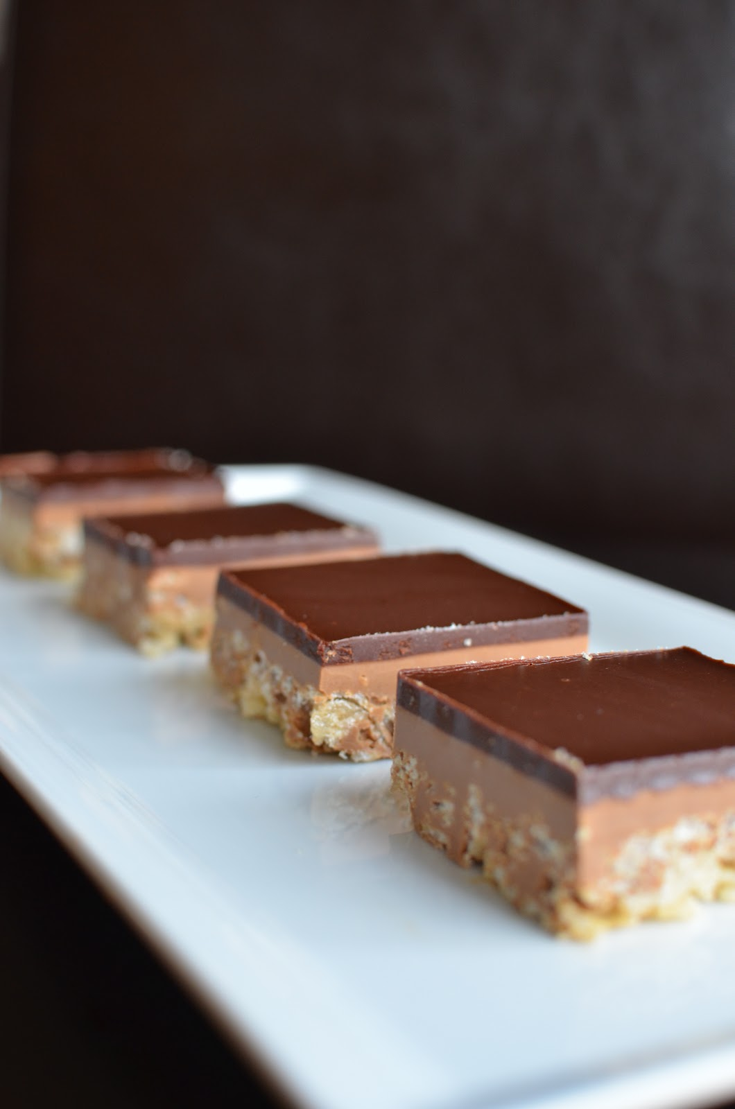 Playing with Flour: Peanut butter crispy bars
