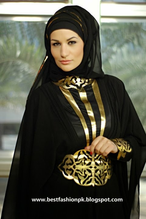 Latest Fashion Hijab Styles And Abaya For Bridal