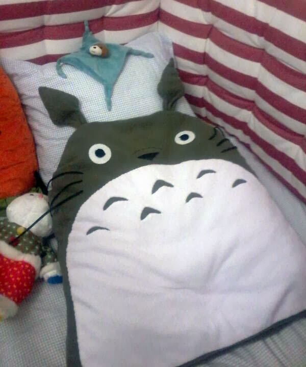 funda cojin Totoro