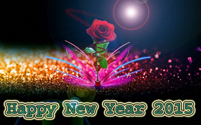 Best Beautiful Happy New Year Backgrounds 2015