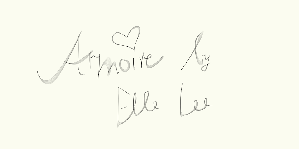 Armoire by Elle Lee